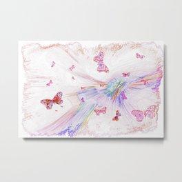 """Flash Dream ~ Butterflies"" Metal Print"