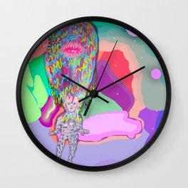 Soul Sailor no.3: Sailing the Universe Wall Clock