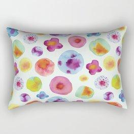 Flower Drops Rectangular Pillow