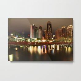 Qiuhong Valley Metal Print