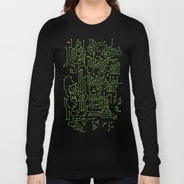 Circuit Board Long Sleeve T-shirt
