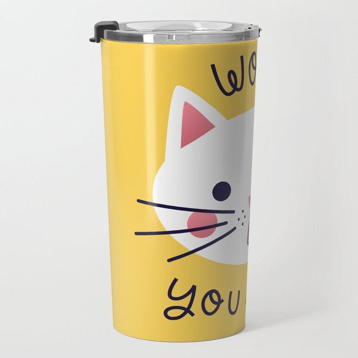 Bossy Cat Travel Mug
