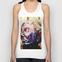 grateful dead Tank Tops featuring Phil Lesh Acrylic Painting Grateful Dead and Furthur by Acorn