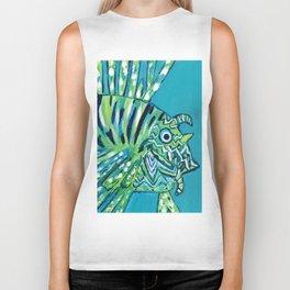 Lion Fish 1, a pretty predator Biker Tank