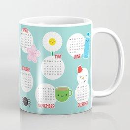 Kawaii Life 2021 Calendar Coffee Mug
