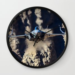F-35 in Death Valley Wall Clock