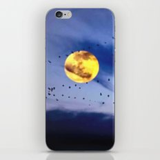 On a left along the moon and further to the east. iPhone & iPod Skin