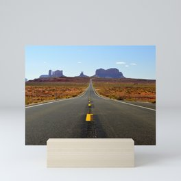 Desert Road Mini Art Print