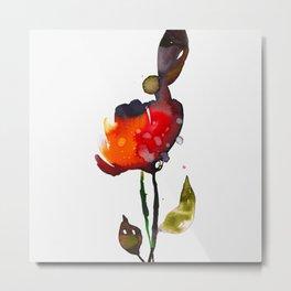 Flower Zen 6d by Kathy Morton Stanion Metal Print