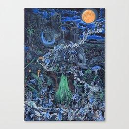 The Blue Sabbath Canvas Print