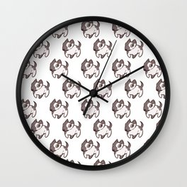 Puppers! Wall Clock