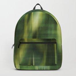 Green Palm Leaves Impression III Backpack