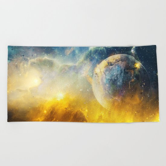 Dreaming the Stars Beach Towel