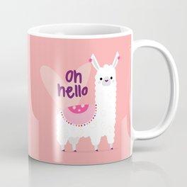 Cute Baby Alpaca Coffee Mug