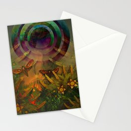 """A Psychedelic Forest"" Stationery Cards"