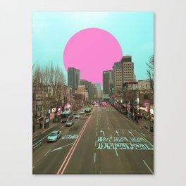 首爾落日 /// Seoul Sunset Canvas Print