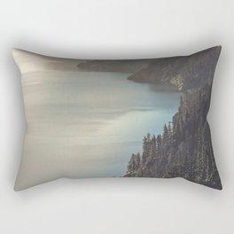 First Light at the Lake II Rectangular Pillow