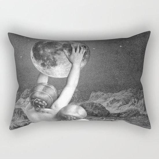 UNDER SAPPHO'S MOON Rectangular Pillow