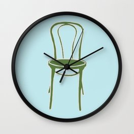 Single Chair Wall Clock