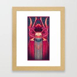 Katsina Mask Framed Art Print