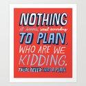 No Plan by chrispiascik