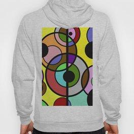 Dark Retro - Geometric, Abstract Pattern Hoody