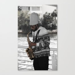 All That Jazz III Canvas Print