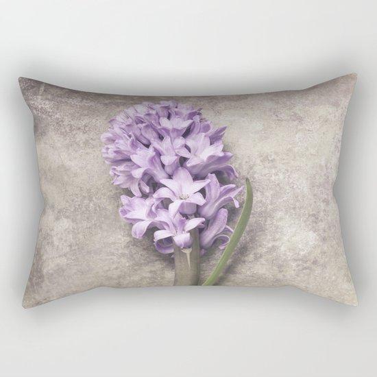 Light Purple Hyacinth Rectangular Pillow