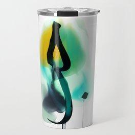"""LOVE"" in Arabic calligraphy Travel Mug"
