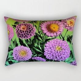 Mum Bouquet Rectangular Pillow