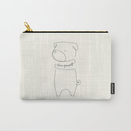 Love Yourself Pug Carry-All Pouch