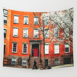 Brooklyn in the Springtime Wall Tapestry