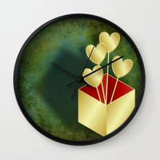 Presenting you my hearts Wall Clock