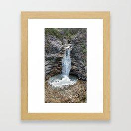 Buller Waterfall Framed Art Print