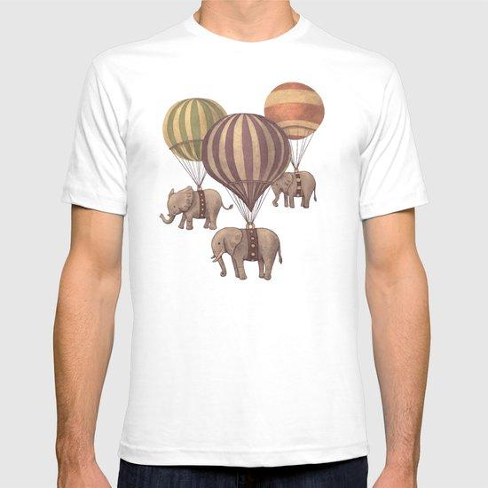 Flight of the Elephants - colour option T-shirt
