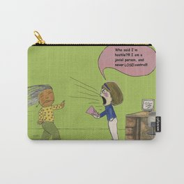 I am not hostile! Carry-All Pouch