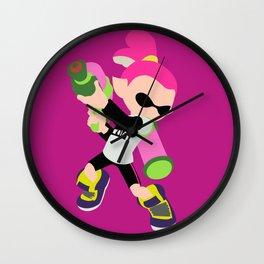 Inkling Boy (Pink) - Splatoon Wall Clock