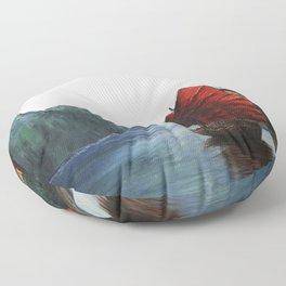 The Boat Floor Pillow