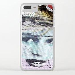 Paper Princess Clear iPhone Case