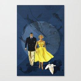 Submarine Promenade Canvas Print