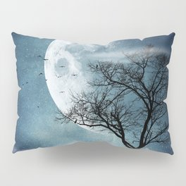 Moon Blues Pillow Sham