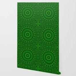 Green Garden Mandala Wallpaper