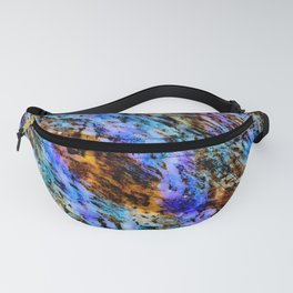 Color gradient and texture 53 Fanny Pack