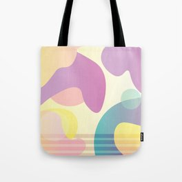 Funky Abstract Pattern Tote Bag