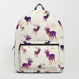 SUNSET DEER PATTERN Backpack