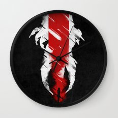 The Effect (FemShep - Reaped) Wall Clock