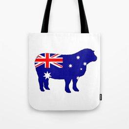 Australian Flag - Sheep Tote Bag