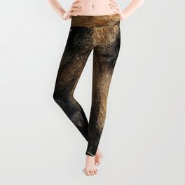 What a tasty yummy at the castle! Leggings