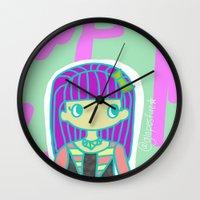 jojo Wall Clocks featuring Jojo by Glopesfirestar