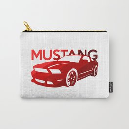 Ford Mustang Boss - classic red - Carry-All Pouch